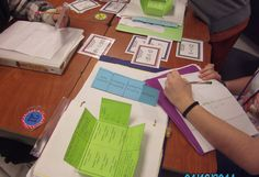 Using task cards to review skills