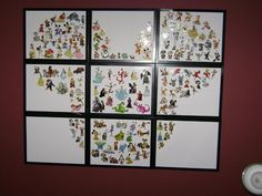 what an AWESOME way to display Disney pins!! When the girls get enough we have to try this :)