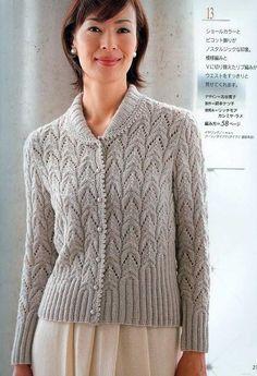 青果领镂空开衫 - 紫苏 - 紫苏的博客