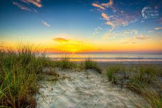 Sunrise at Surfside Beach - Matthew Trudeau Photographg