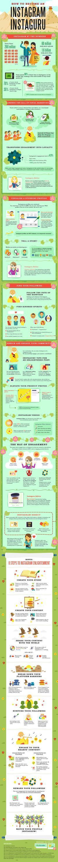 Social Media Marketing On Instagram: Become An Instaguru. #Instagram #Marketing #SocialMedia