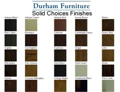 Solid Choices by Durham Furniture delivers a fresh approach to any lifestyle environment, and a broad colour palette with unlimited decorating possibilities!   This program allows you to choose any Durham Furniture finish and apply it to  pieces in the 900 Solid Choices Program, Occasional tables, Saville Row, Manhattan, Chateau Fontaine, and Mount Vernon collections. Durham Furniture, Occasional Tables, Mount Vernon, Black Stains, Park Avenue, Manhattan, Choices, Environment, Palette