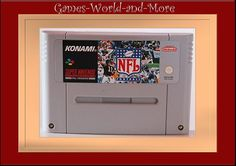 NFL Football für Super Nintendo,SNES-Spiel NFL FOOTBALL ,Ansehen!