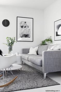 70 Stunning Grey White Black Living Room Decor Ideas And Remodel 9 – Home Design Living Room Grey, Living Room Sofa, Home Living Room, Living Room Designs, Living Room Decor, Apartment Living, Muebles Living, Grey Home Decor, Decoration Inspiration