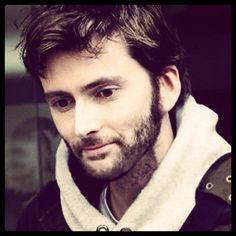 Tennant THE MOST PERFECT PERSON IN THE WORLD HAS A BEARD *dies*