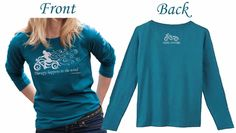New! Steel Cowgirl Therapy Happens In The Wind Women's Motorcycle Shirt