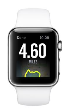 Nike Running App for Apple Watch - Achieve your fitness goals simply by using a gps tracker to measure all things exercise: topsmartwatchesonline.com