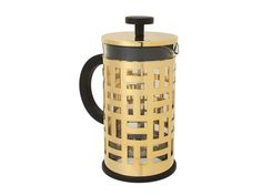 Elevate everyday life with this gorgeous gold French press! Bodum's Eileen French Press is a stunning gadget with a contemporary flair that will be used every day. It not only has an 8 cup capacity and a functional brewing method that takes only four minutes to make fresh coffee, but it comes at an affordable price.
