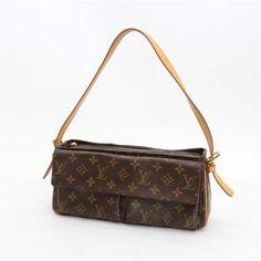 Louis Vuitton Viva Cite MM Monogram Shoulder bags Brown Canvas M51164