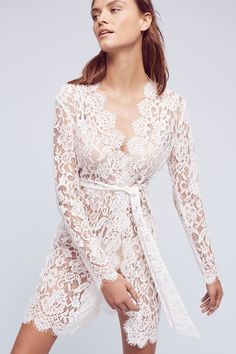 Giselle Lace Robe