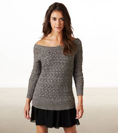 OMG so excited for my new ruffle sweater dress from american eagle!!!