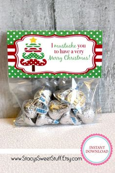 1 million+ Stunning Free Images to Use Anywhere Class Christmas Gifts, Christmas Treat Bags, Christmas Labels, Christmas Candy, Christmas Diy, Merry Christmas, Xmas, Christmas Presents, Brownies In A Jar