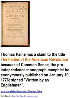 Thomas Paine and his Contribution to Revolution Essay
