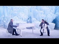 Piano Guys film Frozen's 'Let It Go' at Midway Ice Castle