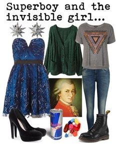 Natalie from Next to Normal inspired outfit from Broadway Hipsters