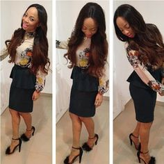 Watch : Let's just see how it goes - Toke Makinwa