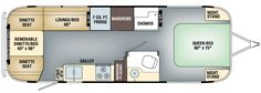 2016 Pendleton Limited Edition - Airstream Floorplan - Sleeps 23 Vertically in Groundbreaking Upright Sleep Pods