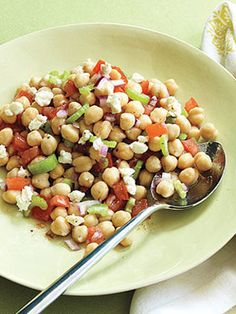 12 Ways with Chickpeas | Quick, easy, healthy recipes via Woman's Day