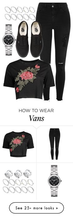 """Untitled #215"" by nodifference on Polyvore featuring River Island, Marc Jacobs, Vans and ASOS"