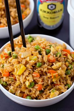Than Takeout Fried Rice There's no need to order out! This better than takeout fried rice is ready to go in just 20 minutes!There's no need to order out! This better than takeout fried rice is ready to go in just 20 minutes! Fried Rice With Egg, Vegetable Fried Rice, Fried Vegetables, Easy Fried Rice, Vegetable Dish, Stir Fried Rice Recipe, Chinese Egg Fried Rice, Healthy Fried Rice, Shrimp Fried Rice