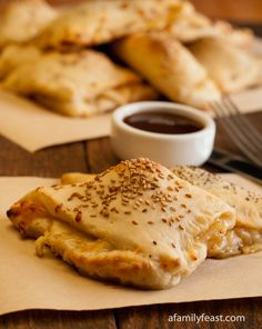 Beef Calzones - A quick and delicious weeknight dinner!