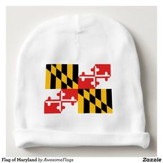 Flag of Maryland Baby Beanie
