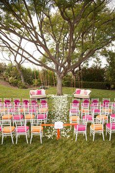 Outdoor Ceremony Decor Ideas  Wedding Ceremony Photos on WeddingWire