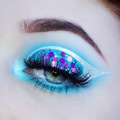 Ariel Make Up ~ Make Up & Beauty with a Princess Touch: ♕ Make Up Look ~ Space Princess ♕