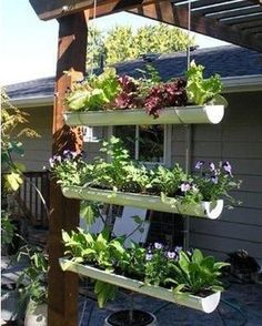 Love the way people utilize space!  Garden ideas image by dneddo on Photobucket
