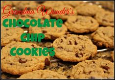 My Grandmother's Chocolate Chip Cookies are legendary. Ask anyone in my family what they want when they go to Dayton to visit Grandma and they'll tell you… her famous chocolate chip cookies! These are simply Wunderful. I promise. When I was