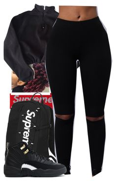 """""""by chance"""" by trippybabii ❤ liked on Polyvore featuring NIKE and adidas"""