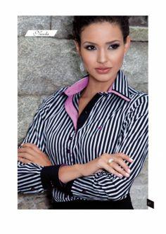 Camisa feminina listrada...show....