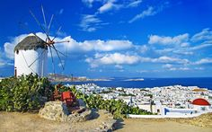 Mykonos, the �Island of the Winds� according to Greek folk culture, is the most known of the Cyclades Islands and a focal point of international jet-set. Description from boatbookings.com. I searched for this on bing.com/images