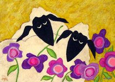 John Blake's Folk Sauce™: Folk Art Valentine Paintings