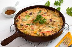 Włoska frittata Iron Pan, Quiche, Breakfast, Kitchen, Food, Morning Coffee, Cooking, Kitchens, Essen