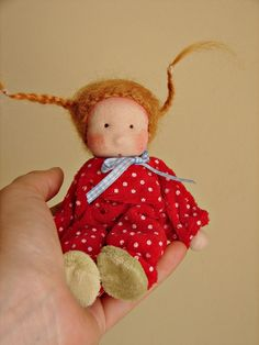 Angie Dollhouse doll  waldorf doll  poupée  puppe