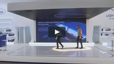 Responsive Spaces literally provided a true highlight to the IAA Pkw 2017 in Frankfurt. A LED wall showed several stories about autonomic driving from the perspective… Interactive Exhibition, Interactive Media, Interactive Installation, Exhibition Display, Light Installation, Interactive Design, Innovation Lab, Server Room, Technology Wallpaper