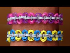 Rainbow Loom Nederlands - Circle Knot || Loom bands, rainbow loom, tutorial, how to - YouTube