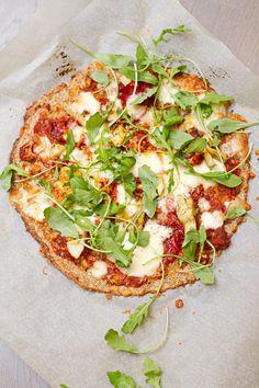 Lillkapsapõhjaga pitsa