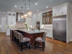 Kitchen| Transitional Kitchen | Dallas Design Group |  Transitional Elegance | Christina Garcia