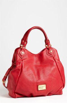 Women S Red Classic Q Francesca Tote Bag Pinterest Purse And