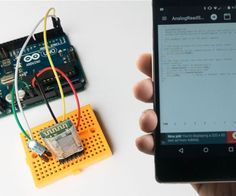 Program your Arduino with an Android device over Bluetooth Find this and other hardware projects on Hackster. Arduino Projects, Electronics Projects, Arduino Bluetooth, Robotic Automation, Micro Computer, Android Technology, Electronic Media, Linux, Smartphone