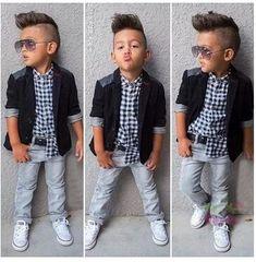 Autumn children's clothing sets Boy's 3pcs suit casual Kids suit baby denim set cotton coats/outerwear+plaid shirts+jeans
