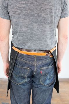 Mens Artisan tablier en Denim Selvage cône par ArtifactBags sur Etsy
