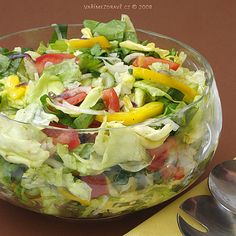 Cobb Salad, Cabbage, Salads, Vegetables, Vegetable Recipes, Salad, Veggie Food, Cabbages, Collard Greens