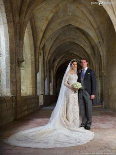 Mariage religieux du prince Felix de Luxembourg et de la princesse Claire de Luxembourg (née Lademacher) en la basilique Sainte-Marie-Madeleine de Saint-Maximin-la-Sainte-Baume, le 21 septembre 2013. Le couple a annoncé le 14 janvier 2014 attendre son premier enfant.
