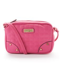 Look what I found on #zulily! Pink Alice Carlyle Crossbody Bag #zulilyfinds