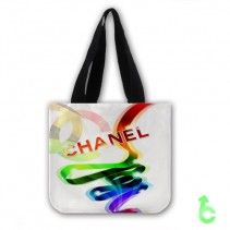 Chanel color abstract lines Tote Bags