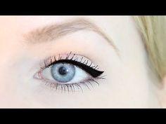 Schminktipps - Liquid Eyeliner richtig auftragen - YouTube