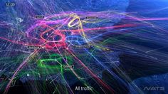 VIDEO: NATS handles over 2 million flights in UK airspace every year. Of those, over 1.2 million arrive at or depart from a London airport. That's over 3,000 flights…